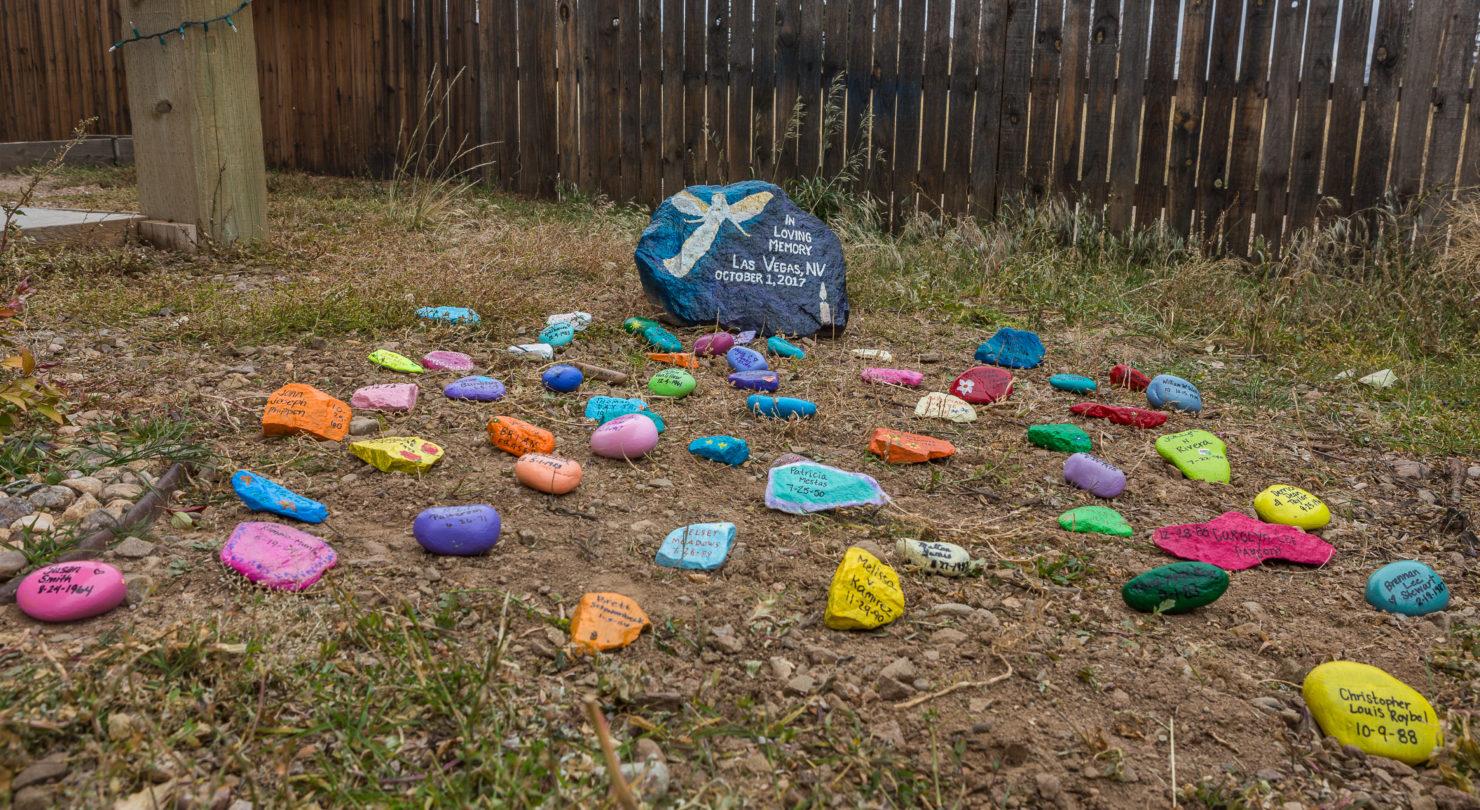 Art U0026 Soul Rocks Hold Memorial